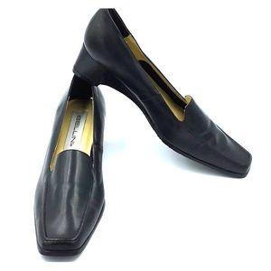 Bellini Simone 7.5 M Leather Slip On Shoes NWOB
